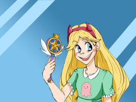 Star Butterfly by sweetxvichy