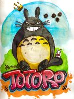 Totoro by Monsieur-Drams