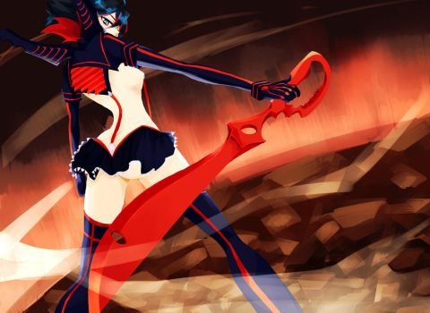 Kill La Kill by kidakat