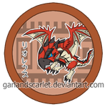 Rathalos Pin by GarlandScarlet