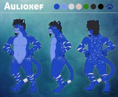 Aulioxef Ref Sheet - Commission by SabrinaDeets
