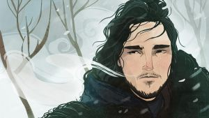 Jon Snow by LauraTolton