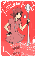 AT: Ice Cream Girl by staelus