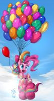 Pinkie's Balloons by vest
