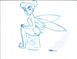 Marc Davis TinkerBell by Anime-Ray