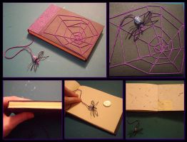 Spider book by Swirlything