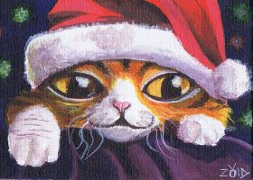 Rugford christmas ACEO by KingZoidLord