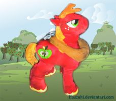 Big Macintosh Plushie by Hoozuki