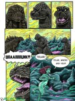 Godzilla: Kings and Brothers, Page #5 by kaijukid
