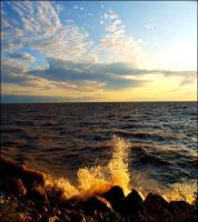 By the Sea by Graphitation