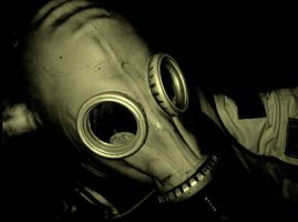 gas-mask by Slevinslevin
