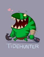 DotA2: Tidehunter by phsueh
