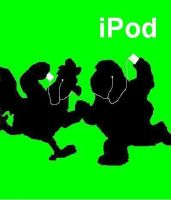 Family Guy iPod Ad by Swordsman826