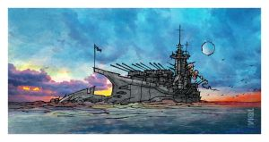 HMS Lord Protector by tomzoo