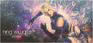 Nina Williams by BadMinz