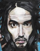 Russell Brand by DJW