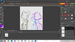 WIP comic cover by AmyRose507