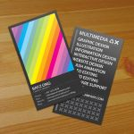 Rainbow Business Card v2 by Lemongraphic