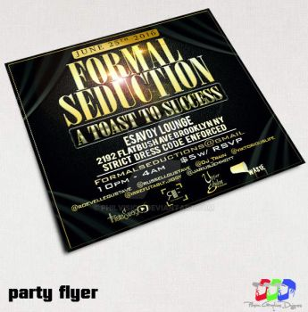 Formal Party Flyer by PhilVision