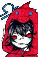 Terezi Pyrope chibi by TravelersDaughter