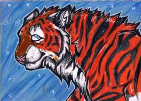 ACEO Tiger by Crimson-Asylum