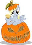 Derpy in Pumpkin by UP1TER
