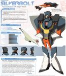 TFA Aerialbots: Silverbolt by dou-hong