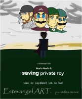 mario war. Saving Private Roy by Estevangel