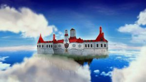Jonathan's Castle in the sky by Jonathan3333