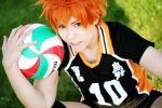 Haikyuu!!/HQ: volleyball love by prechu