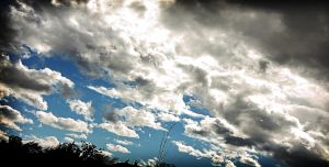 Cloudspan Panorama by TPextonPhotography