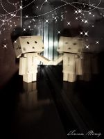 Day 013: Danbo Sees Stars by twong314