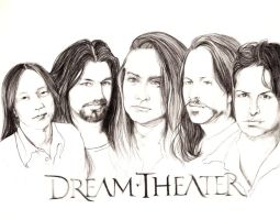 Dream Theater by ulos12