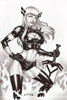 MAGIK, ON E-BAY AUCTION NOW !!! by carlosbragaART80