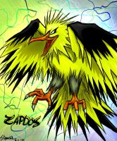 Zapdos by Slipmaskin