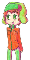 Kyle Chibithing by FlyAwayMax