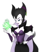 [fanart] Maleficent by CaptainPandaa