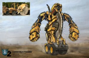 Transformers 2 sketches by waza8i