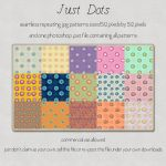 Pattern: Just Dots by HGGraphicDesigns