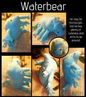 Waterbear plush by Tylon