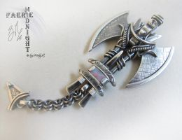 'VIKING SKEGGOX' Mens Pendant by SuziMidnight
