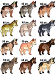 Wolf Adopts - by MichelsAdoptions