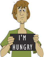 Shaggy is hungry by ZeFrenchM
