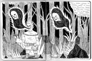 Woodland ghosts by ivegotworms