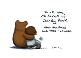 to the children of Sandy Hook by Griffin-Fire