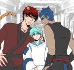 AU!Kuroko_Tiger and Panther guardians by LuCiFelLo