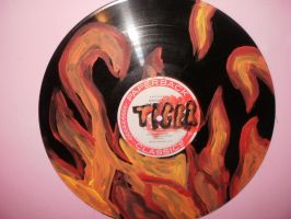 Painted Record by FoxiArtist