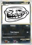 Troll Face Pokemon Card by XMuppetSB1989