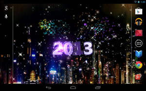 Android Live Wallpaper New Year by graphicated-cologne