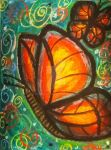 Butterflies Art Journal Page by ArtsyLayne